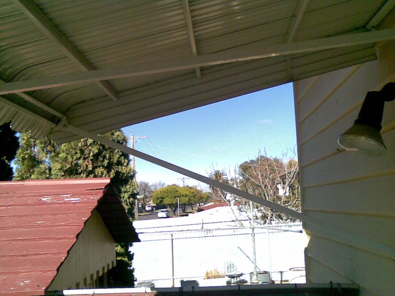 Metal Awnings Maryborough Goldfields Screens And Blinds